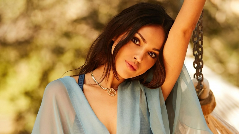 Eiza Gonzalez Rollacoaster Photoshoot 4k Wallpaper