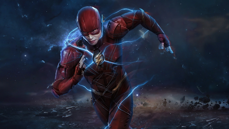 Flash Running Zack Synder Cut 5k Wallpaper