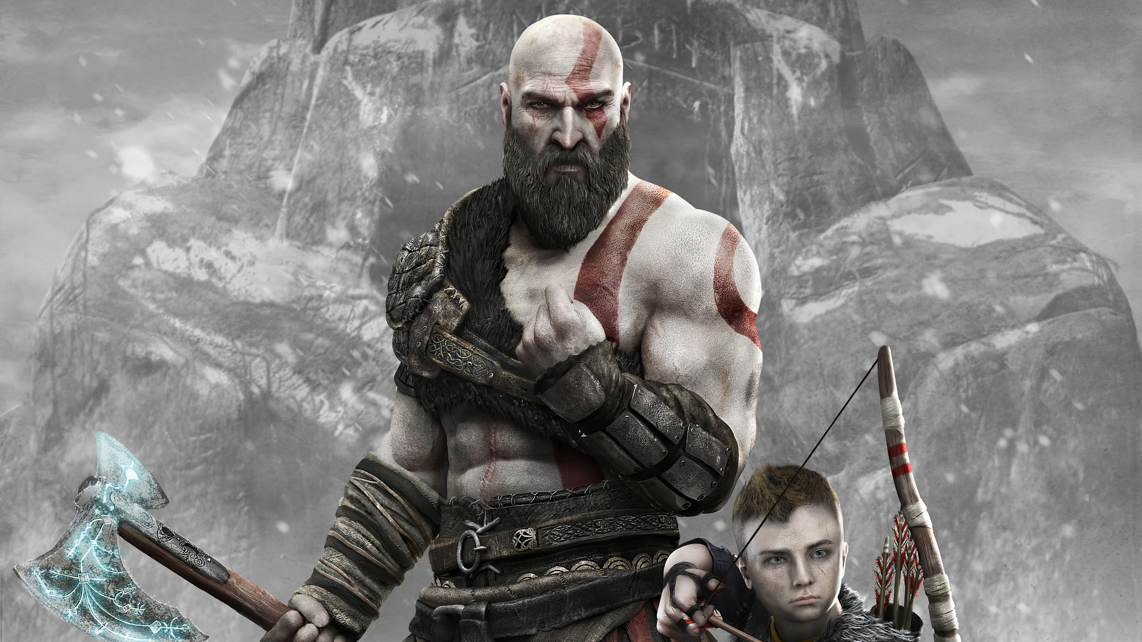 2 God of war HD Wallpapers & Backgrounds