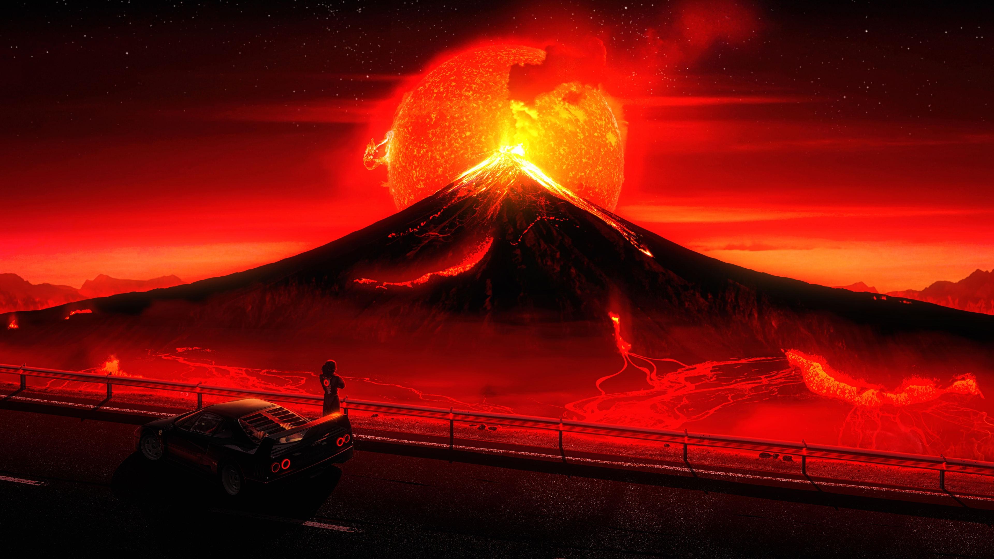 1 Volcano Hd Wallpapers Backgrounds